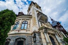 slott romania Royaltyfri Foto