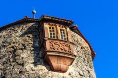 Slott Ronneburg i Hessen, Tyskland Royaltyfri Fotografi