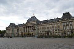 Slott Royale i Bryssel Fotografering för Bildbyråer