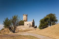 Slott Ruine Arkivbild
