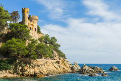 Slott Sant Joan Arkivfoto