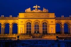 Slott Schönbrunn Wien Arkivfoton