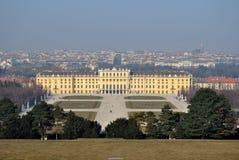 Slott Schoenbrunn, Wien, Österrike Arkivbilder