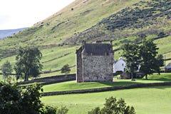 slott scotland Fotografering för Bildbyråer