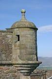 slott scotland stirling Arkivbilder