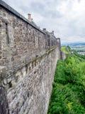 slott scotland stirling Fotografering för Bildbyråer