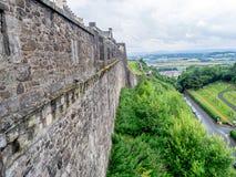 slott scotland stirling Royaltyfria Bilder