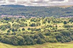 slott scotland stirling Arkivfoto