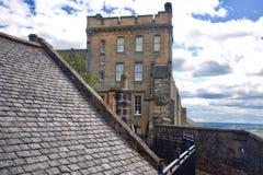 slott scotland stirling Royaltyfria Foton
