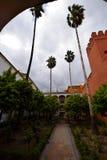 slott sevilla arkivbild