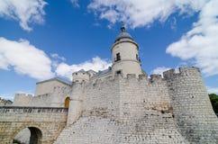 slott simancas valladolid Royaltyfri Fotografi