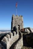 Slott Sintra, Portugal Royaltyfria Foton