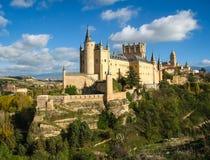 Slott-skepp Alcazar, Segovia, Spanien Royaltyfri Bild