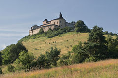 slott slovakia Arkivfoton
