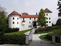 slott slovenia fotografering för bildbyråer