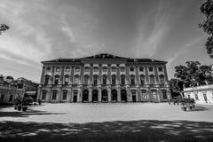 Slott som är från Liechtenstein i Wien, Österrike Fotografering för Bildbyråer