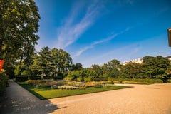 Slott som är från Liechtenstein i Wien, Österrike Royaltyfri Bild