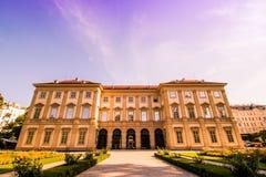 Slott som är från Liechtenstein i Wien, Österrike Royaltyfri Foto