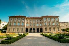 Slott som är från Liechtenstein i Wien, Österrike Royaltyfri Fotografi