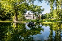Slott som är från Liechtenstein i Wien, Österrike Royaltyfria Foton