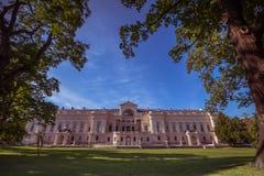 Slott som är från Liechtenstein i Wien, Österrike Arkivbild