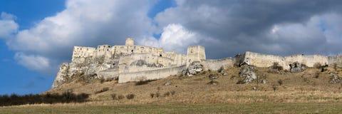 slott spissky slovakia Royaltyfri Fotografi