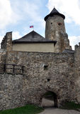 Slott Stara Lubovna, Slovakien, Europa arkivfoton