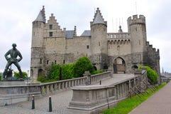 slott steen Arkivfoto