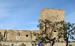 Slott Svevo av Bari Royaltyfria Foton