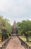 Slott Thailand Royaltyfria Foton