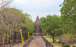 Slott Thailand Royaltyfri Fotografi