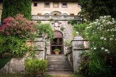 Slott Toscana Royaltyfri Fotografi