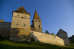 slott transylvania royaltyfria bilder