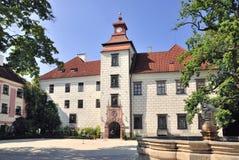 Slott Trebon, Tjeckien Royaltyfria Foton