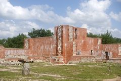 Slott Turaida, Lettland royaltyfri fotografi