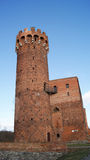 slott tyska gammala poland Arkivbild