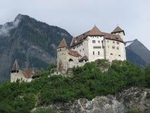 slott vaduz Fotografering för Bildbyråer