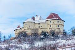 Slott Veliki Tabor i Kroatien royaltyfria foton