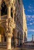 Slott Venedig för doge` s Arkivbilder