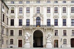 slott vienna för Österrike domstolEuropa hofburg Arkivfoton