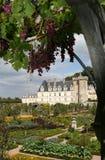 slott villandry france Royaltyfri Fotografi