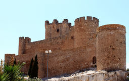 slott villena Royaltyfri Foto
