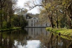 Slott Warmond, Nederländerna Arkivbild