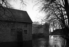 Slott Werdringen Arkivfoto