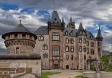Slott Wernigerode Arkivbild