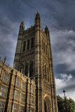 slott westminster Royaltyfri Fotografi
