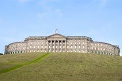 Slott Wilhelmshoehe, Kassel, Tyskland fotografering för bildbyråer