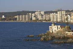 Slott Wulff i Vina del Mar, Chile Royaltyfri Foto