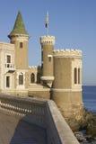 Slott Wulff i Vina del Mar, Chile Arkivfoto
