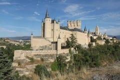 SlottAlcazar av Segovia Arkivfoto